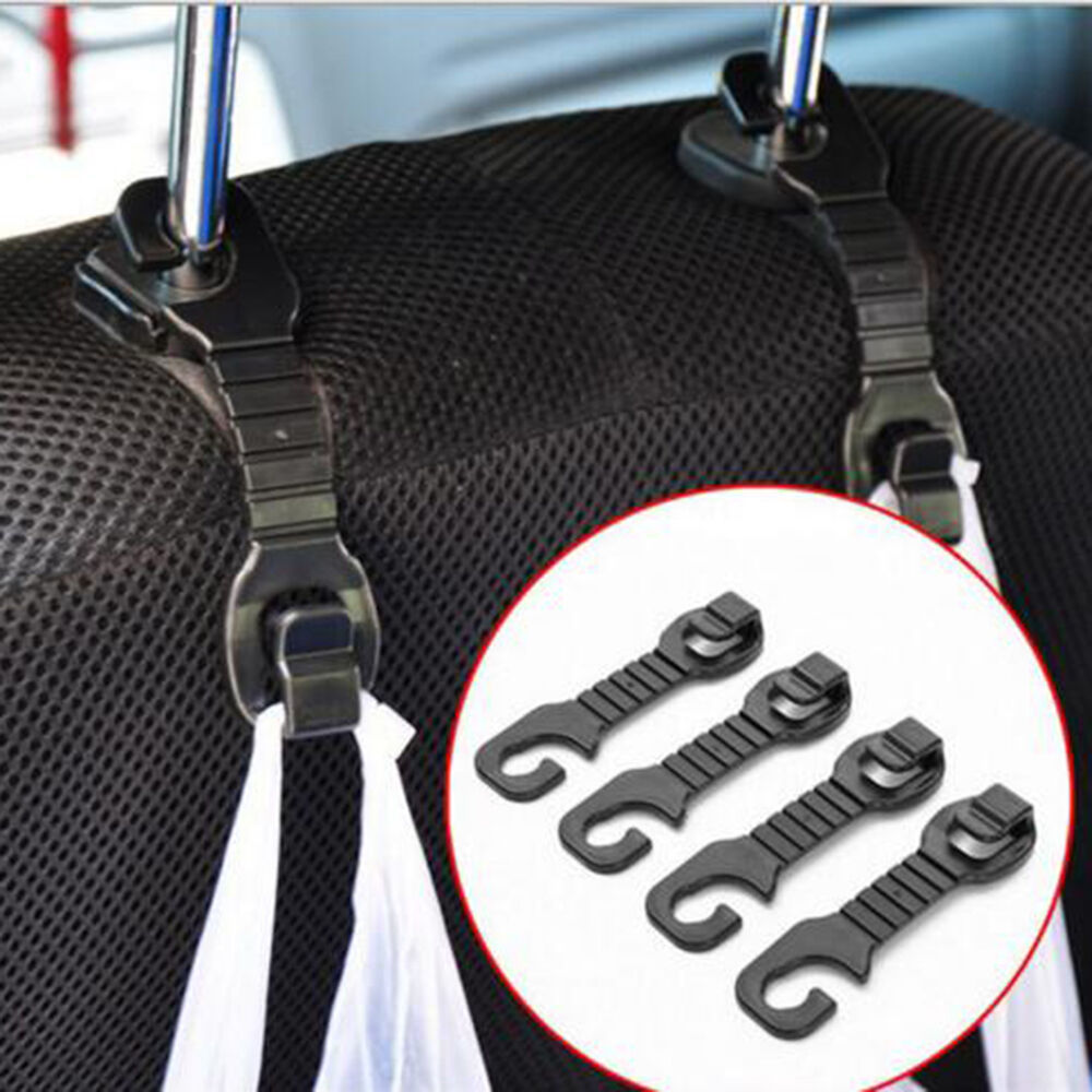 new 2pcs car hook holder hanger headrest auto back seat hooks for bag purse ebay. Black Bedroom Furniture Sets. Home Design Ideas