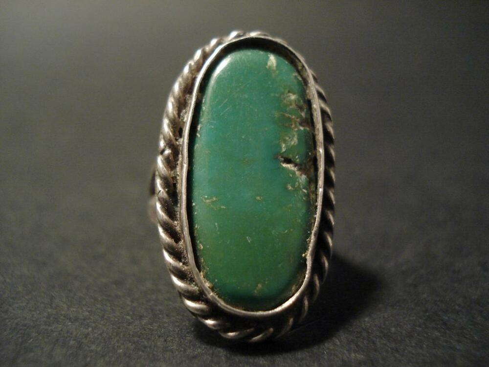 Navajo Turquoise Sliver Ring