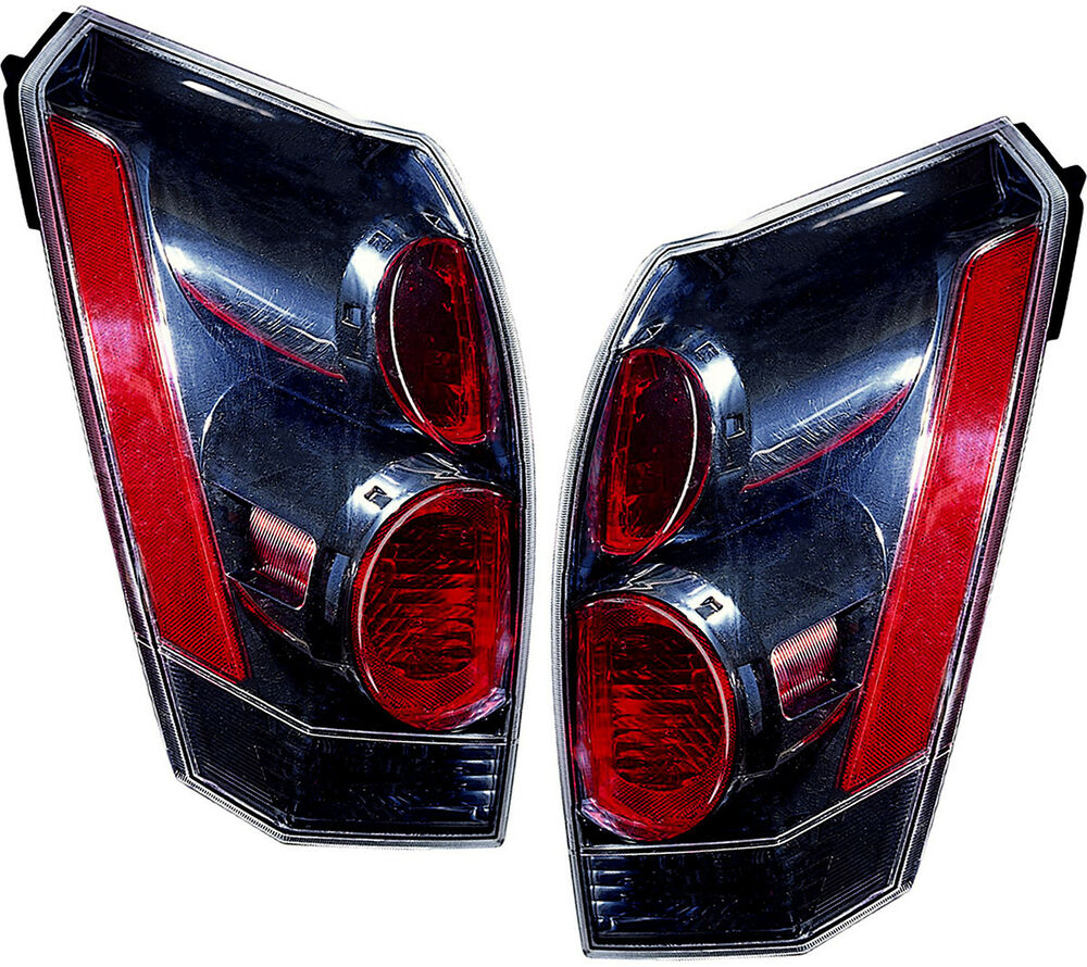 Tail Lights Lamps Tail Light Assembly Pair Set for 2007 ...