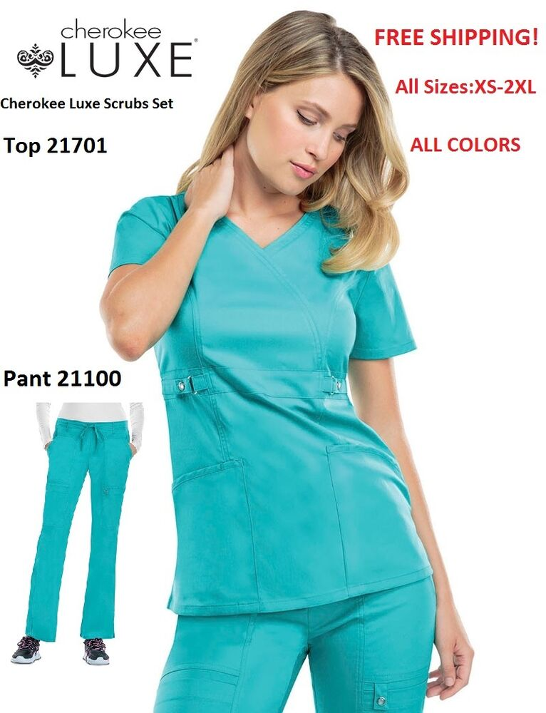 Cherokee Scrubs 4 Less - Always Free Shipping for Orders Over $ Find Cherokee scrubs at fantastic prices. Shop the full line of Cherokee Workwear scrubs, Cherokee Luxe scrubs, Cherokee Revolution and i-Flex scrubs, Dickies, Heartsoul, Code Happy scrubs & .