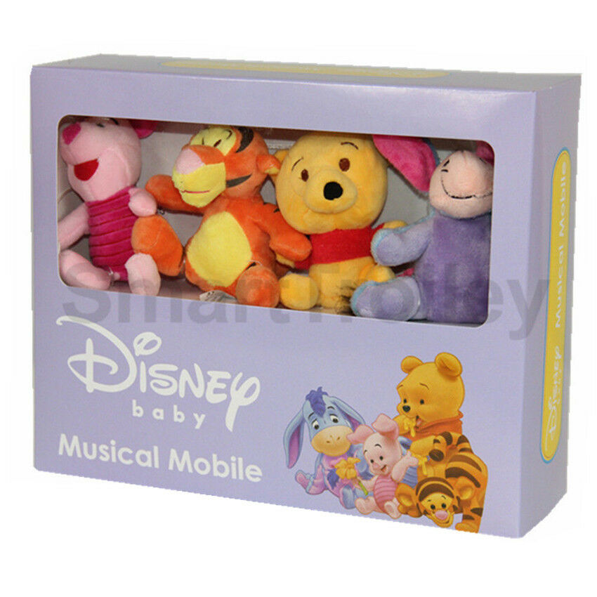 Winnie The Pooh Disney Baby Wind Up Crib Musical Cot