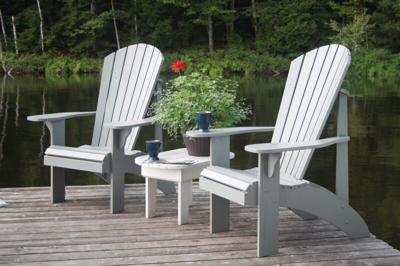 Grandpa adirondack chair plans full size patterns ebay - Patterns for adirondack chairs ...