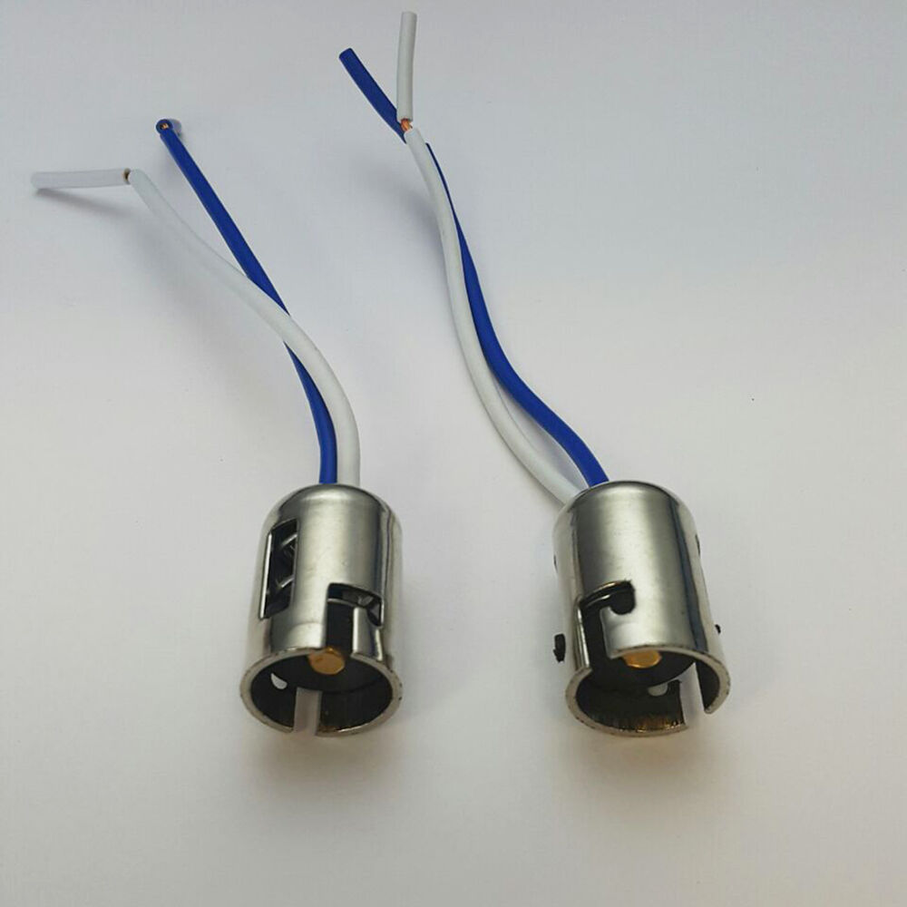 2x 1156 p21w 1073 1141 7506 ba15s light bulb socket holder