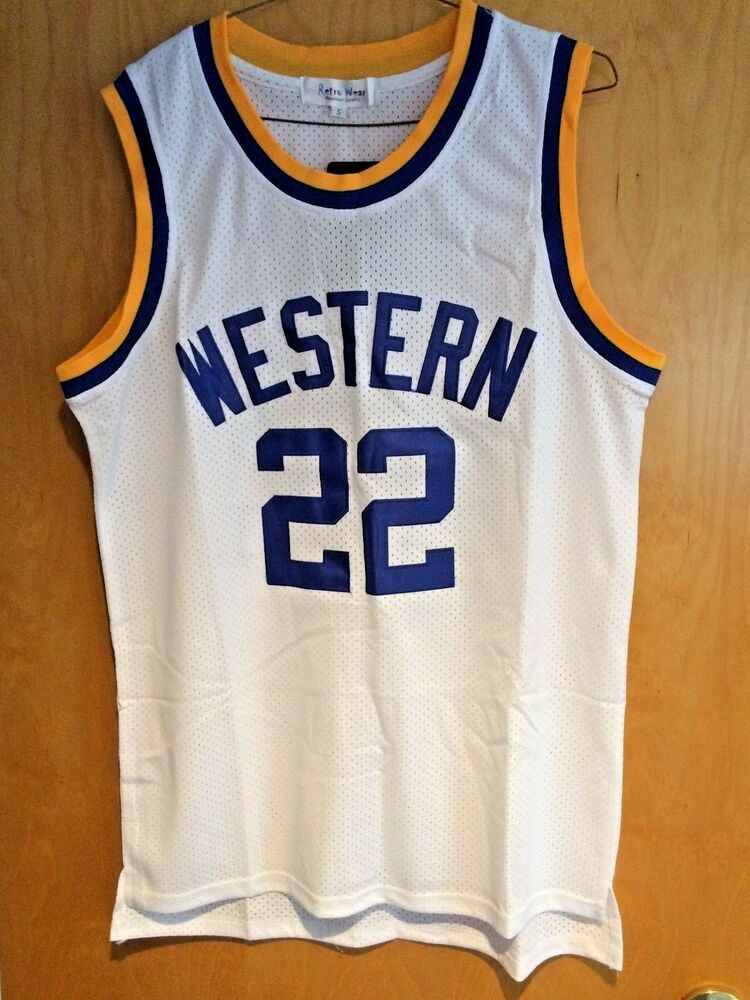 94030cb532f Details about Blue Chips  22 Butch McRae Jersey Anfernee