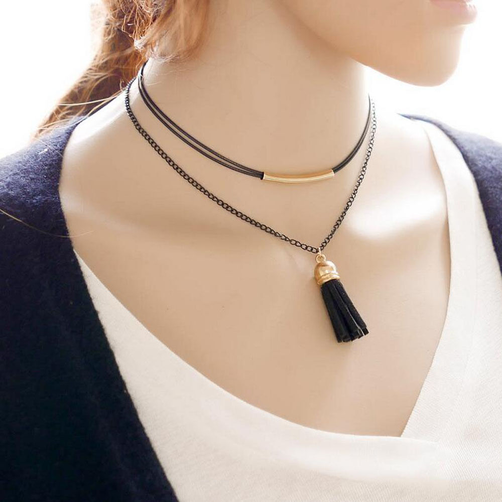 New Arrival Fashion Charm Bohemia Sexy Black Leather ...