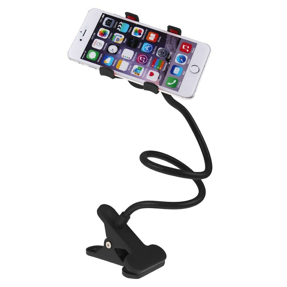 Flexible Lazy Bracket Mobile Phone Stand Holder Car Bed