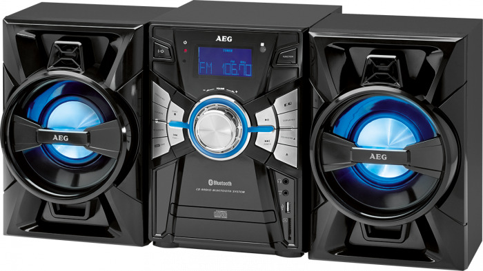 stereoanlage mit cd mp3 radio usb aux in und bluetooth aeg mc 4465 bt ebay. Black Bedroom Furniture Sets. Home Design Ideas