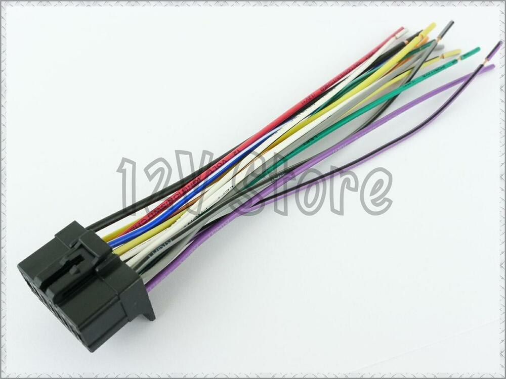 pioneer speaker power harness deh p5100ub deh p5800mp connector wire cable ebay