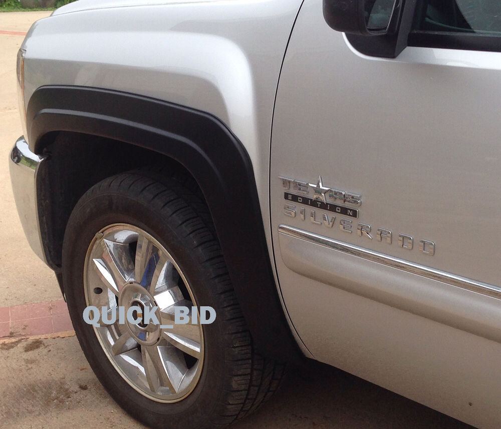 Factory Style Fender Flares For 2007-2013 Chevy Silverado
