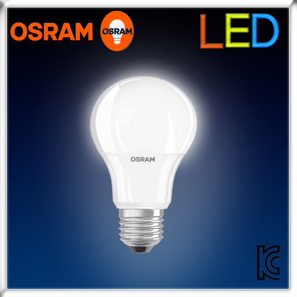 osram 9 5w light bulb led star classic a70 lamp e27 e26 70w 2700k 6500k frosted ebay. Black Bedroom Furniture Sets. Home Design Ideas