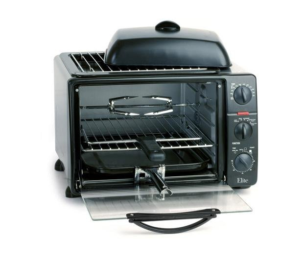 Countertop Convection Microwave Oven With Grill : ... liter Toaster Oven with Rotisserie Convection Fan & Grill grid eBay
