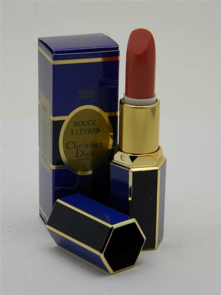 christian dior rouge rouge a levres lipstick 529 passionate rose ebay. Black Bedroom Furniture Sets. Home Design Ideas