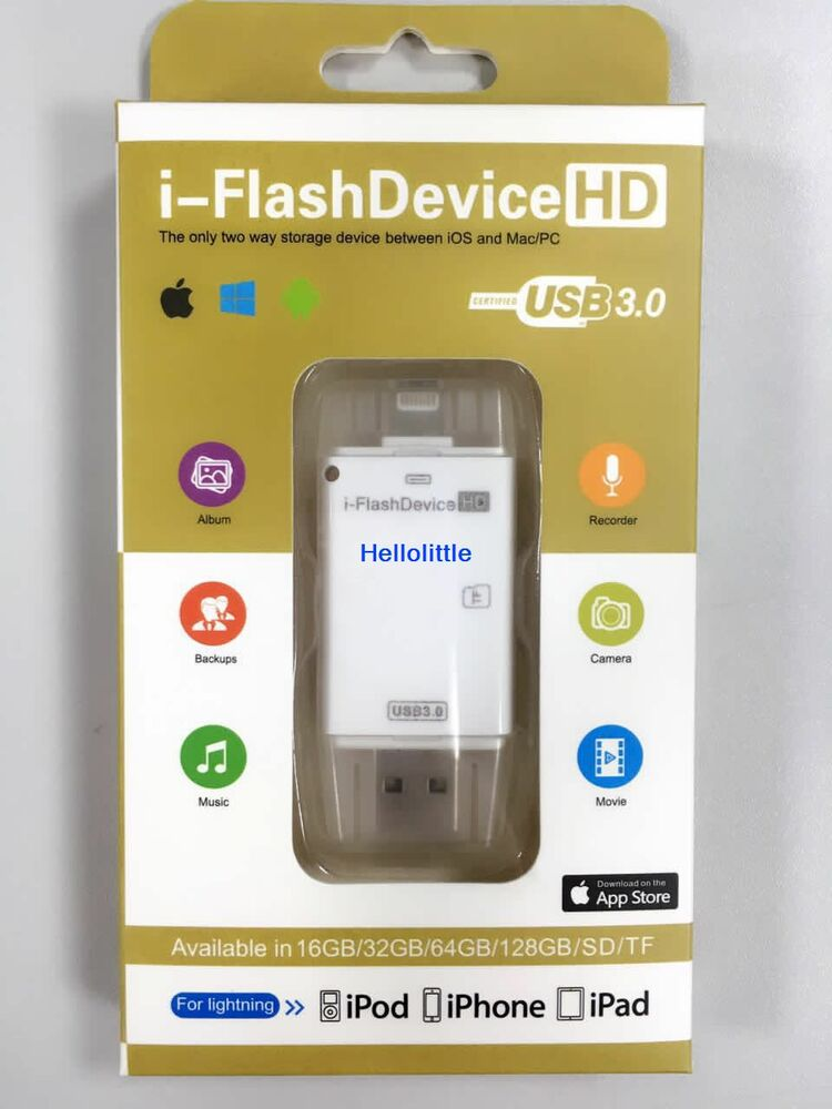 usb 3 0 lightning sdhc micro sd tf otg card reader for iphone 6 7 7 plus android ebay. Black Bedroom Furniture Sets. Home Design Ideas
