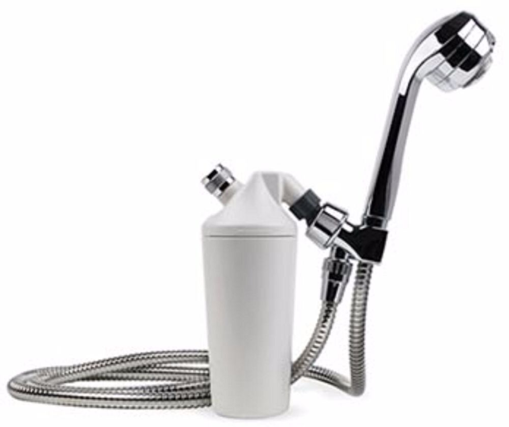 aquasana aq 4105chr shower filter with chrome wand usps priority mail shipping ebay. Black Bedroom Furniture Sets. Home Design Ideas