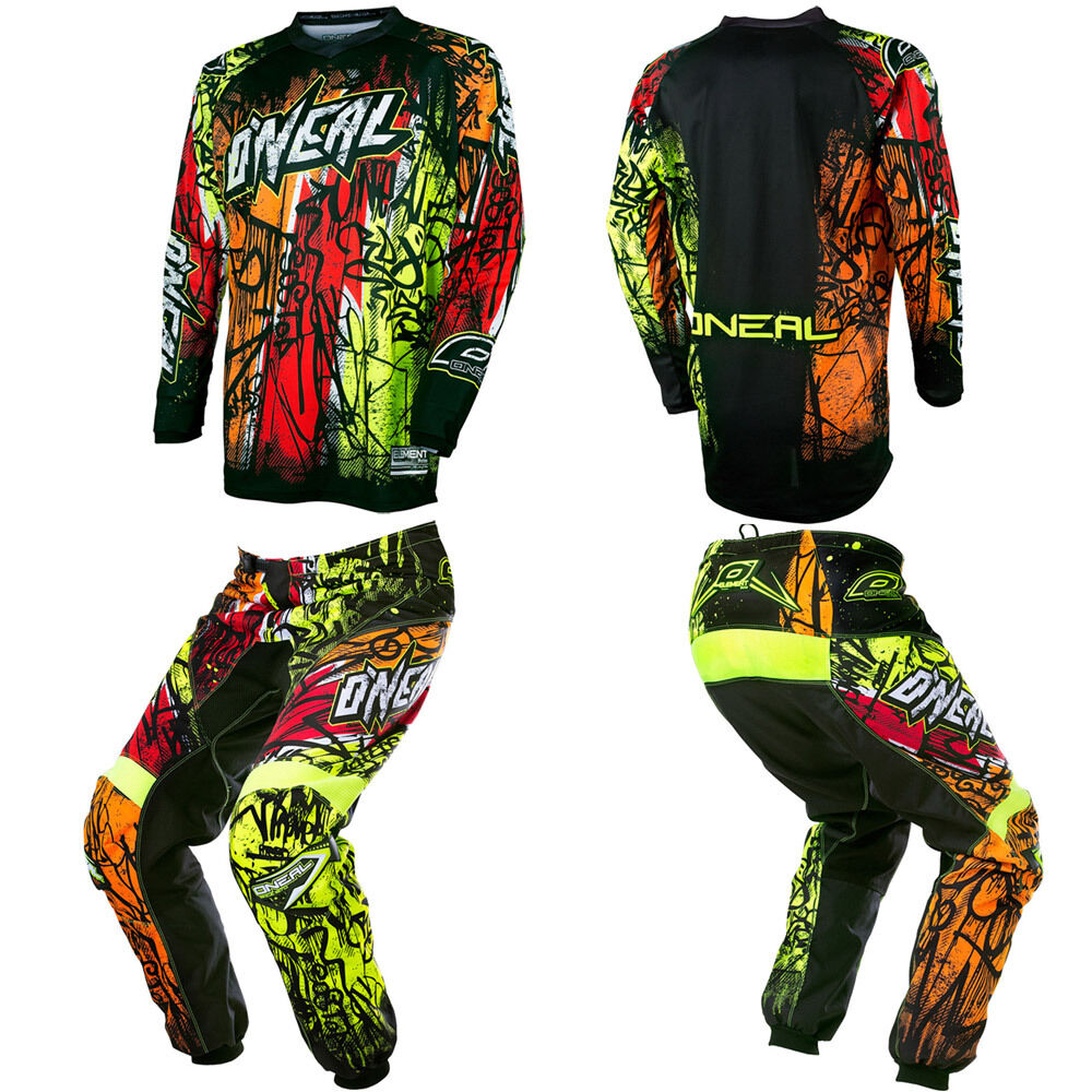 2017 O 39 Neal Element Vandal Motocross Mx Dirtbike Gear