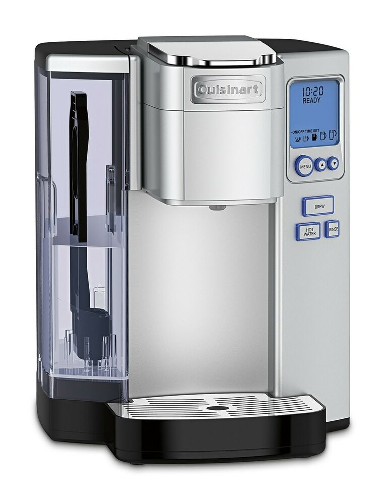 Cuisinart Premium Stainless Steel Single Serve Coffeemaker K Cup Keurig Brewing eBay