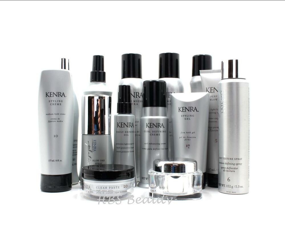 Kenra Styling Products, Hot Spray, Styling GEL, Mousse