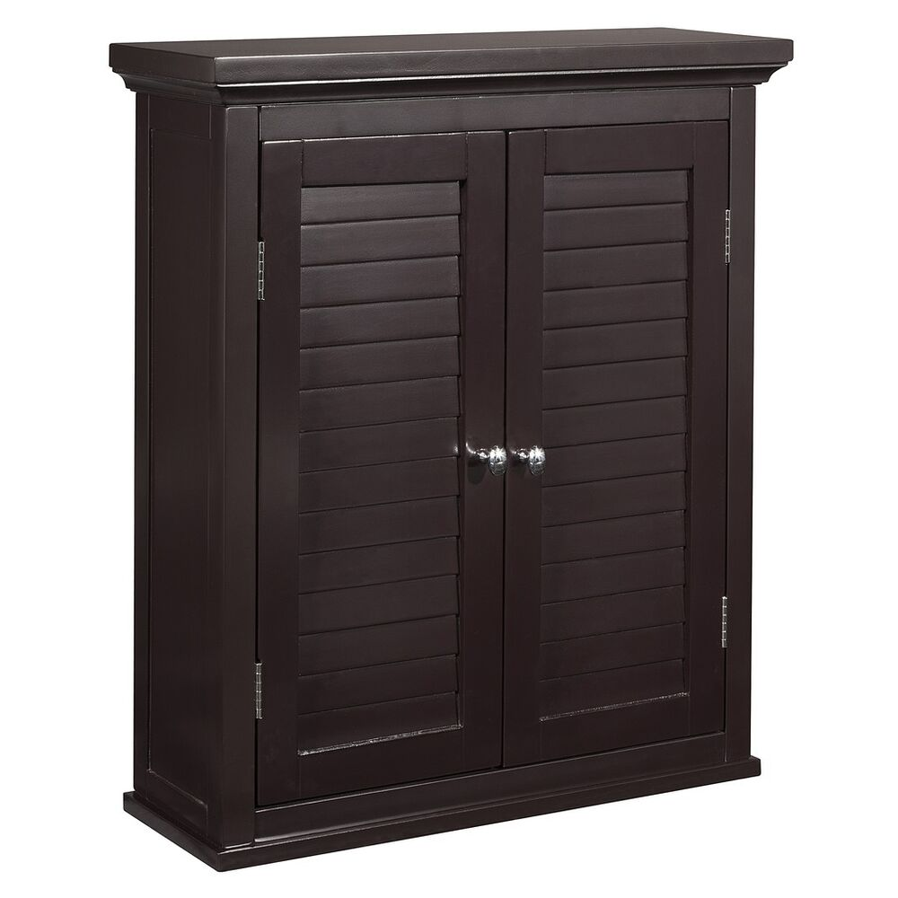 slone wall cabinet 2 shutter doors for bathroom kitchen 17382