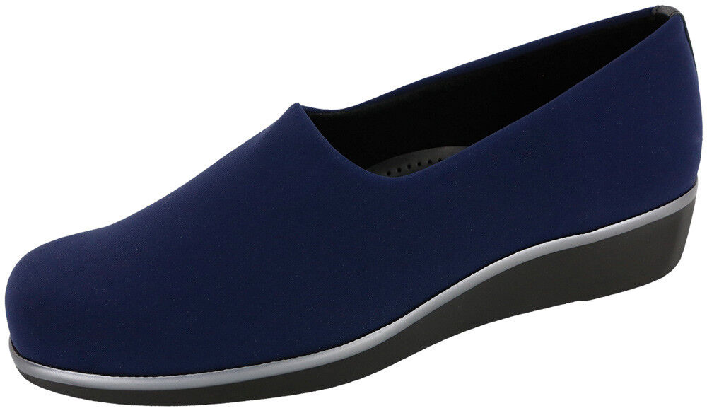 sas s bliss walking comfort slip on shoe arch