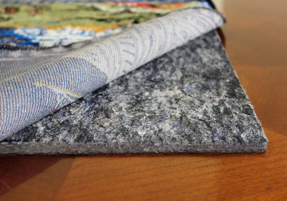 Rug Pad Non Skid Felt Rubber Rug Mat Cushioned Rug Pads