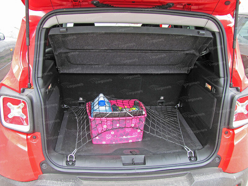 cargo net jeep renegade car boot luggage trunk floor net organiser ebay. Black Bedroom Furniture Sets. Home Design Ideas