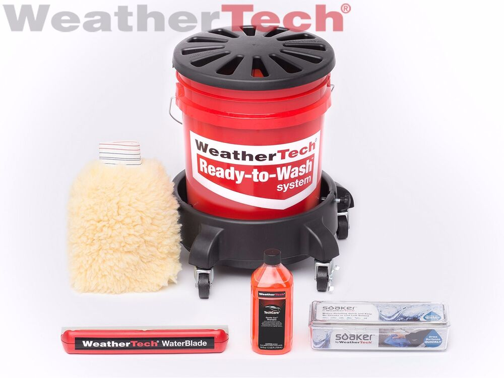 Weathertech Ready To Wash Just Add Water Complete Set Ebay