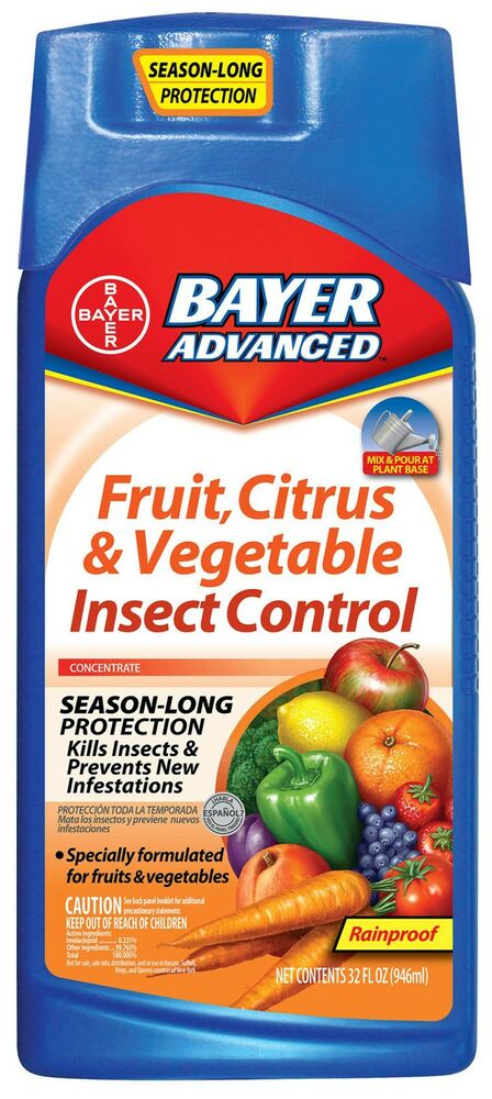 New Bayer Fruit Citrus Vegetable Insect Control 32 Oz Ebay