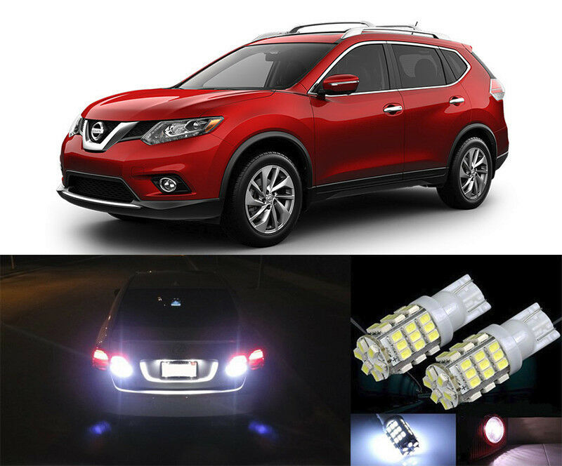 Premium led reverse backup light bulbs for 2008 2015 nissan rogue t15 42smd ebay 2015 nissan altima interior lights