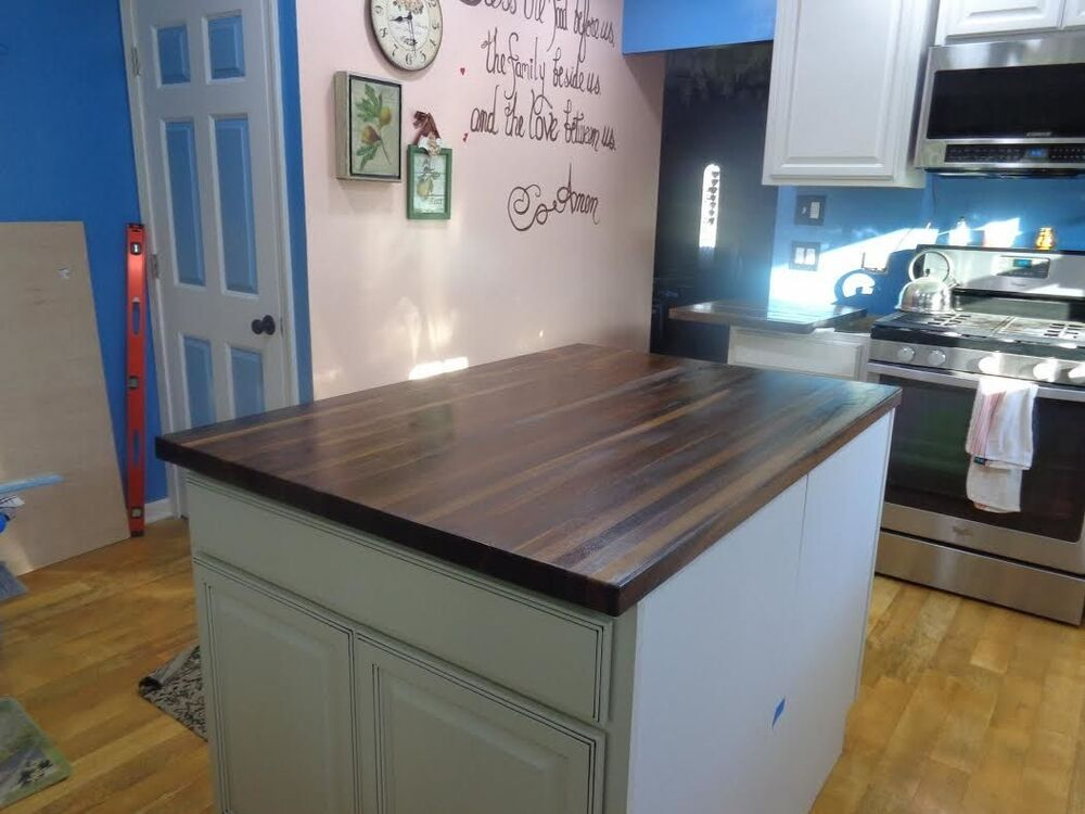 Forever Joint Walnut Butcher Block Top 1 1 2 X26 X60 Kitchen Countertop Ebay