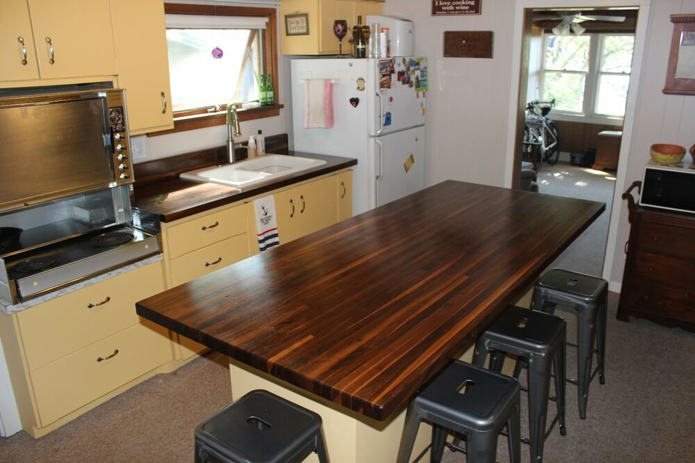 Forever Joint Walnut Butcher Block Top 1-1/2