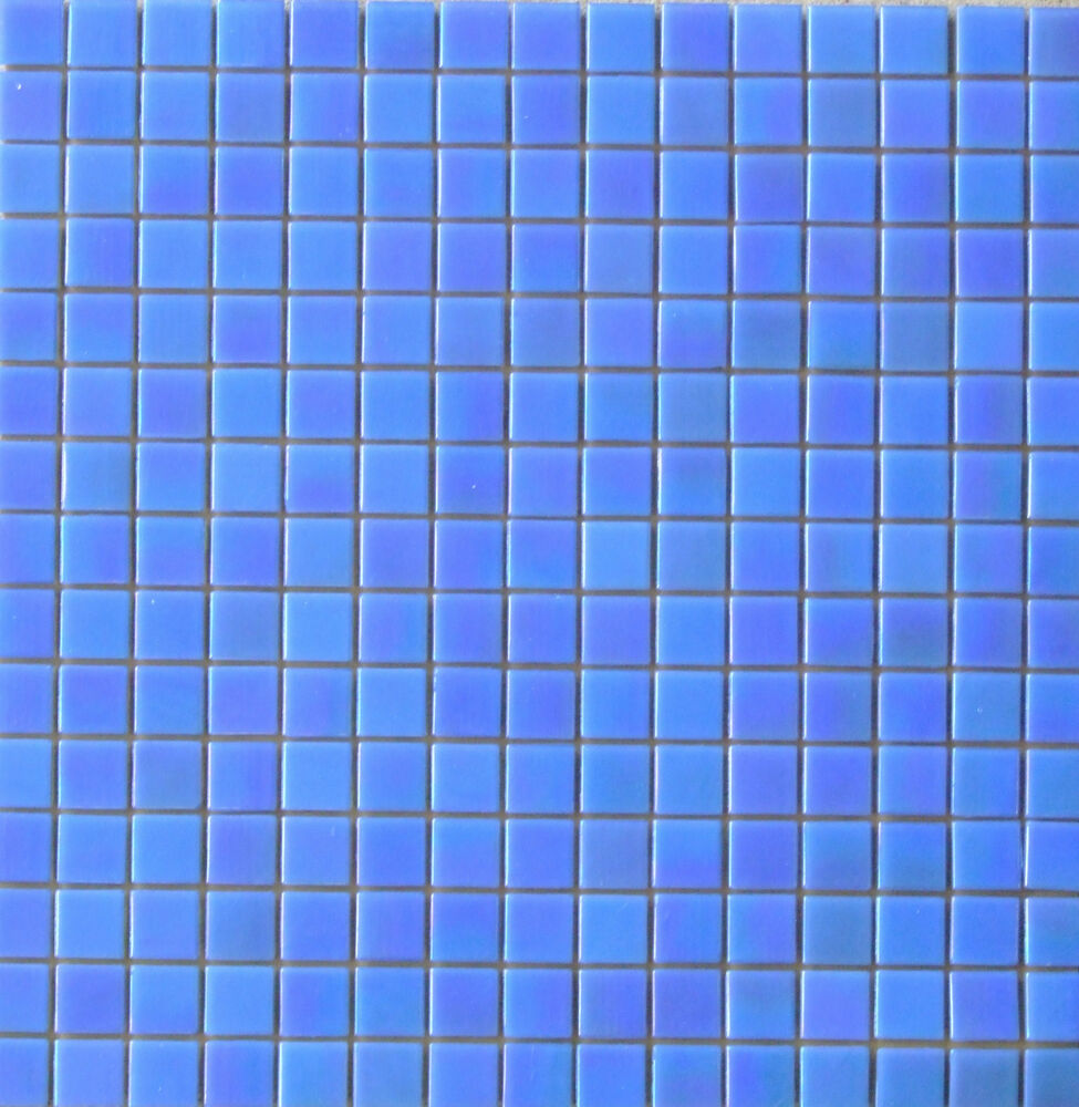 glasmosaik mosaik fliesen blau dusche pool perlmutt effekt neu wa15 ebay. Black Bedroom Furniture Sets. Home Design Ideas