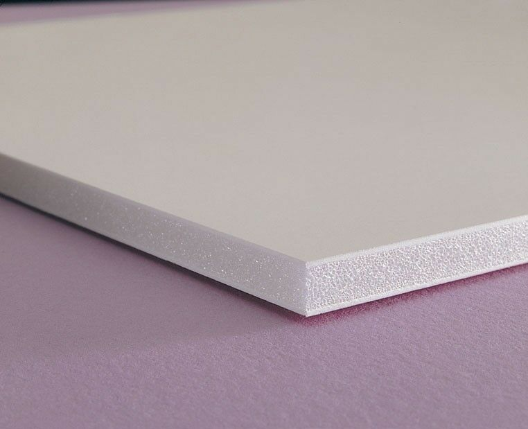 White Sintra Pvc Foam Board Plastic Sheets 3mm 1 8 Quot 12 Quot X