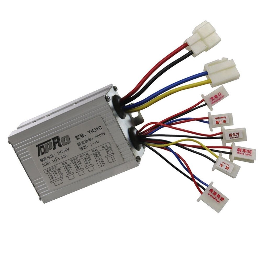 800w 36v dc speed controller box for scooter electric bike for 36v dc motor controller