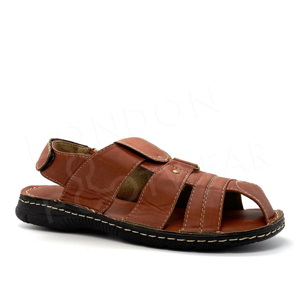 8611d00ac Details about New Mens Gladiator Summer Beach Mules Cushioned Sandals  Walking Holiday Size UK