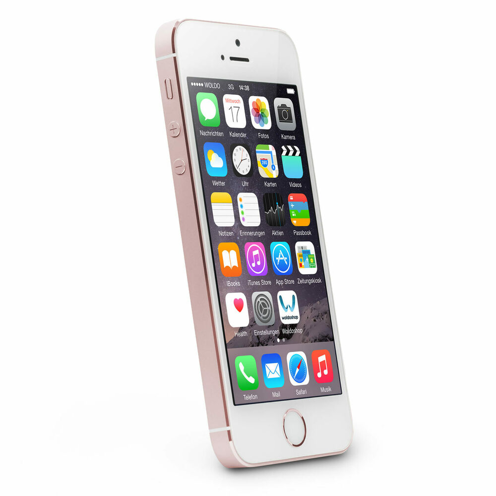 apple iphone se 32gb rosegold smartphone neuware ohne. Black Bedroom Furniture Sets. Home Design Ideas