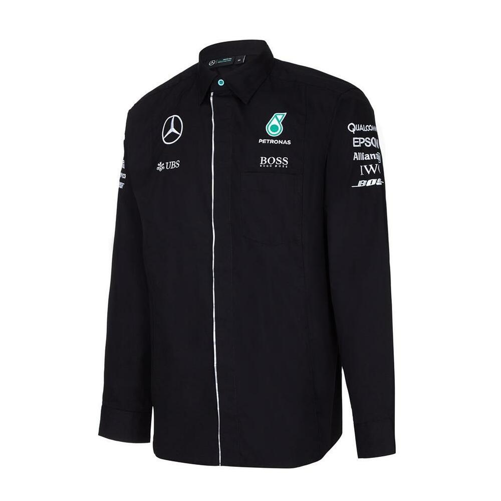 Mercedes benz amg formula 1 petronas motorsports long for Mercedes benz clothes and accessories