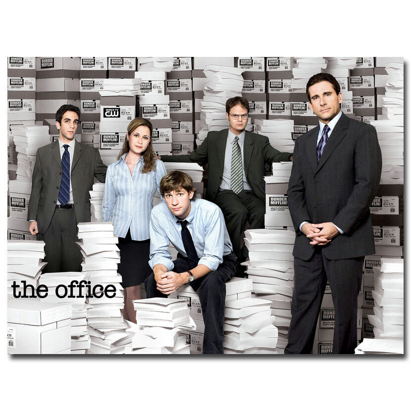 The Office TV Series Silk Poster 13x18 24x32 Inch 003 EBay