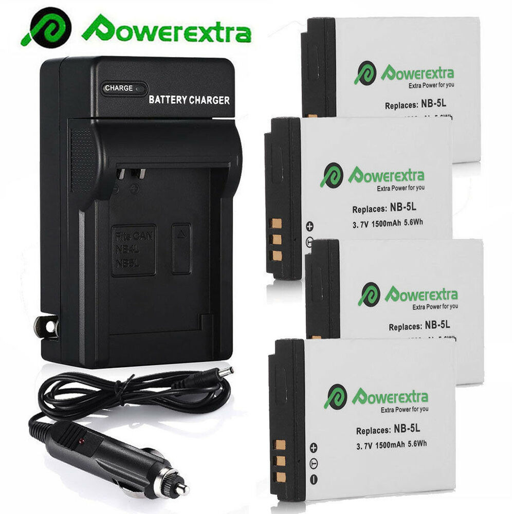 Nb 5l Battery Charger For Canon Powershot S100 Sx200