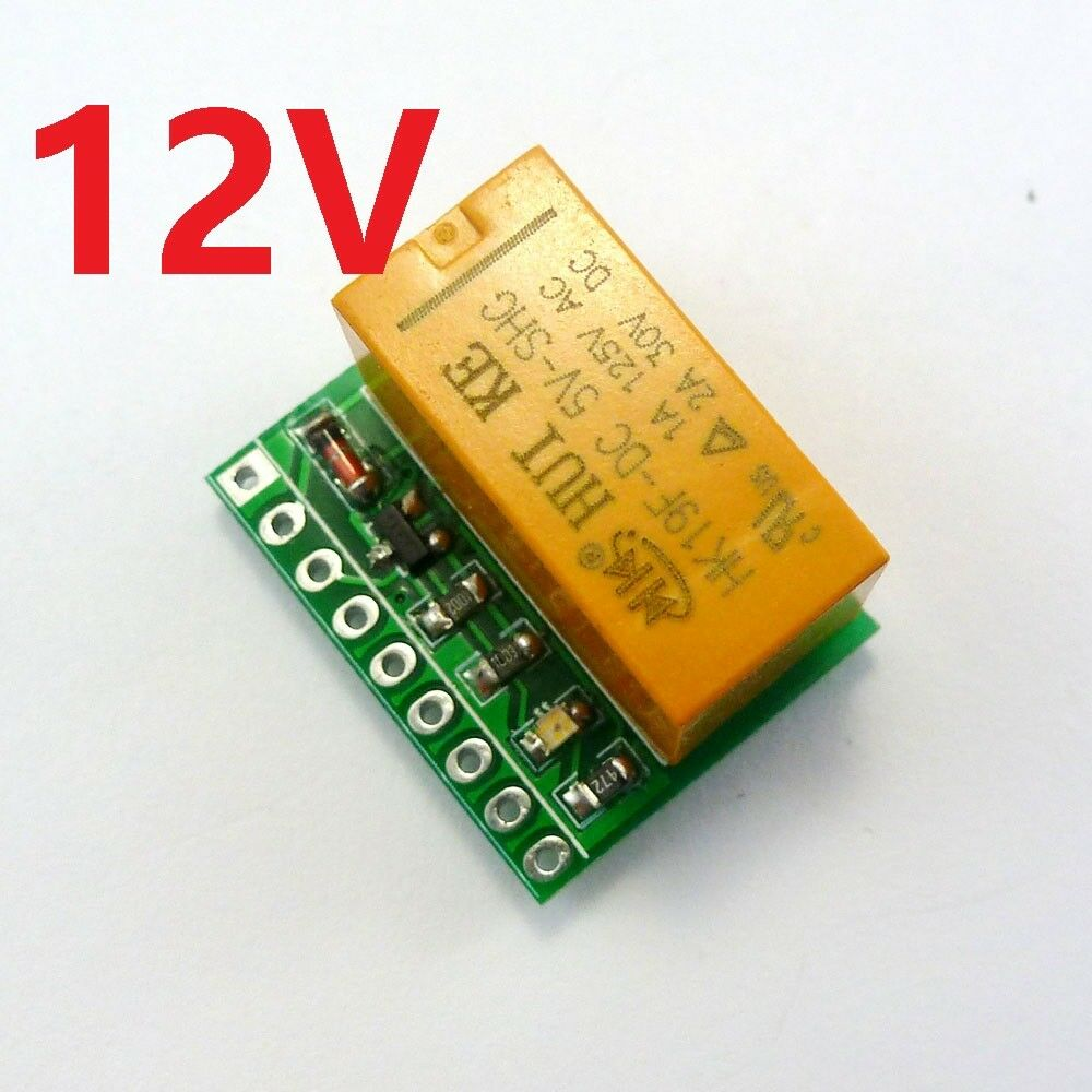 12v 2a Dpdt Relay Board Hk19f Pcb Module For Motor Led