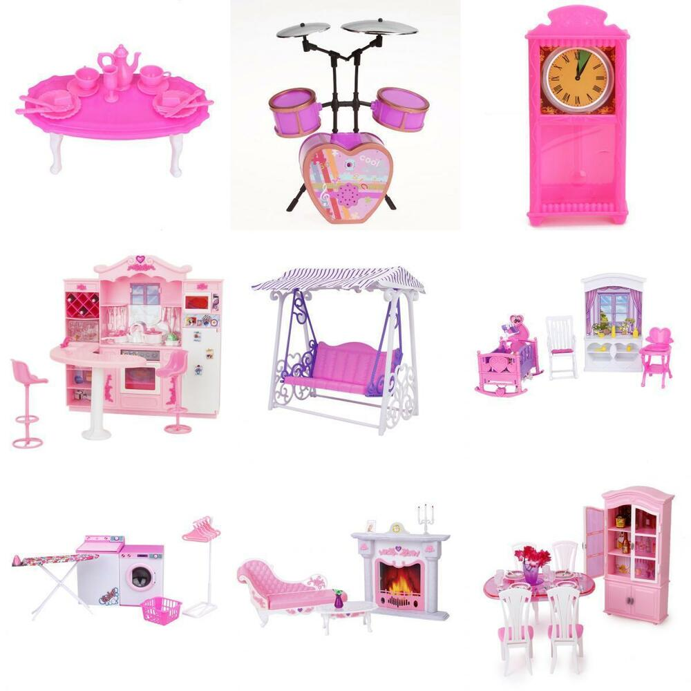 Doll house miniature furniture accessory pretend play set for Accessory house