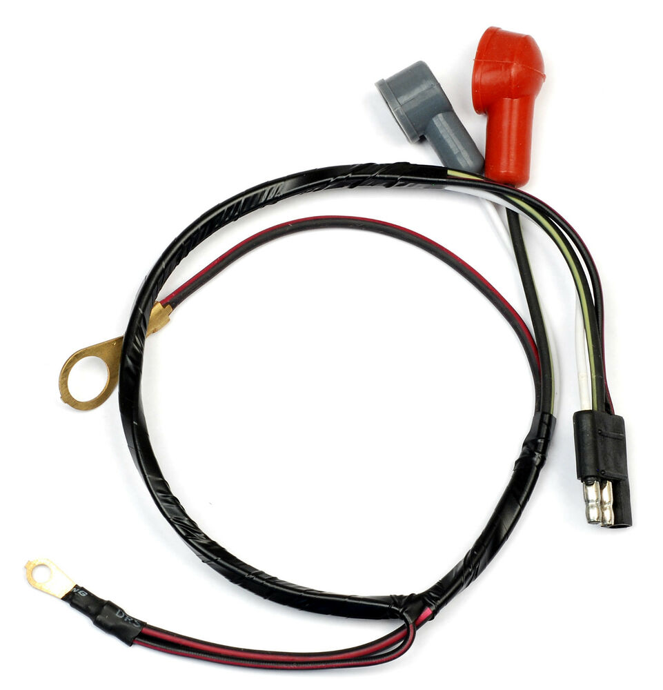 ford mustang alternator wiring loom harness 1966 66 coupe. Black Bedroom Furniture Sets. Home Design Ideas