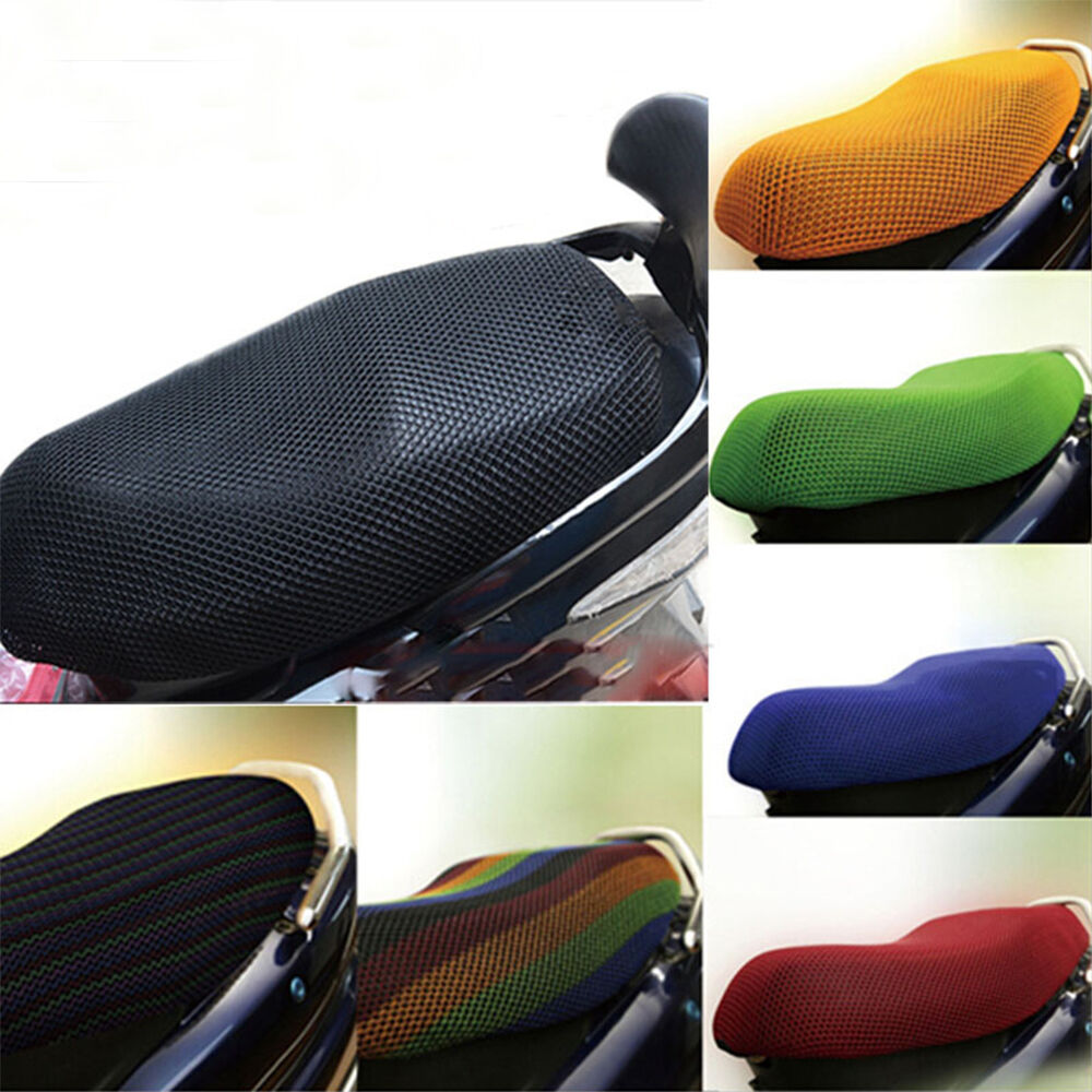 Motorcycle Electric Car Net Seat Cover Scooter Mesh