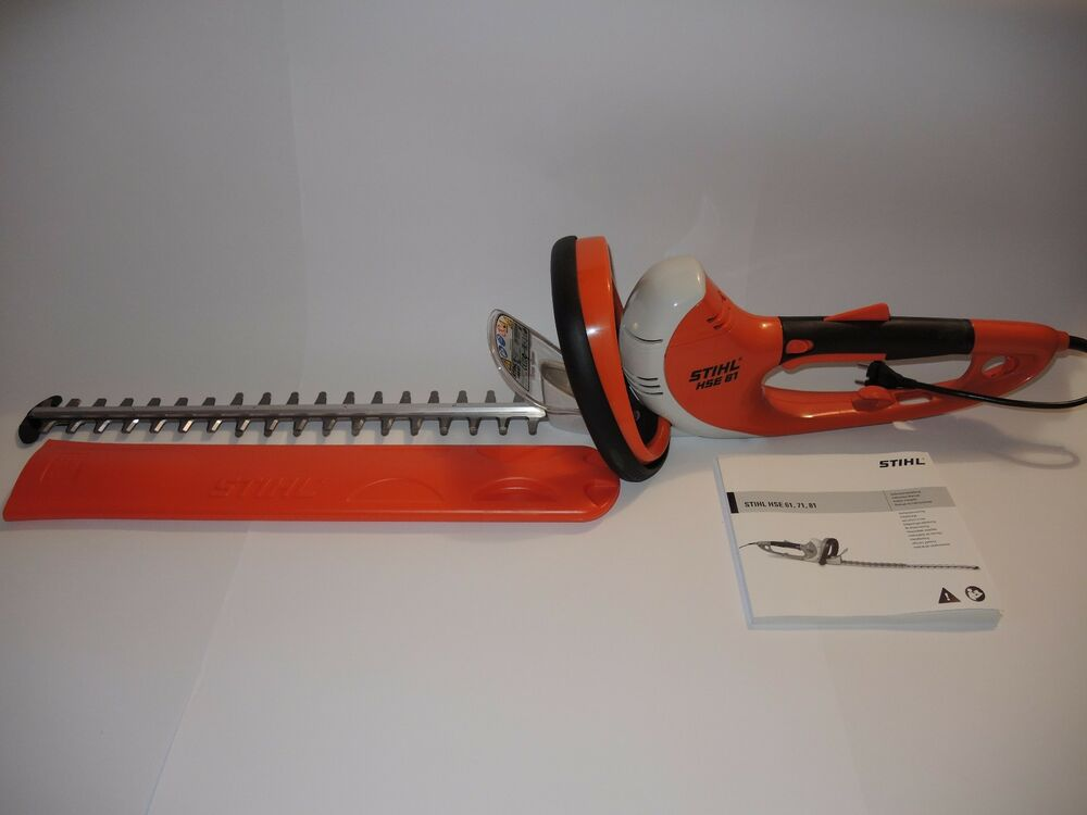 stihl hse 61 heckenschere hse61 mit 500mm messer neu ebay. Black Bedroom Furniture Sets. Home Design Ideas