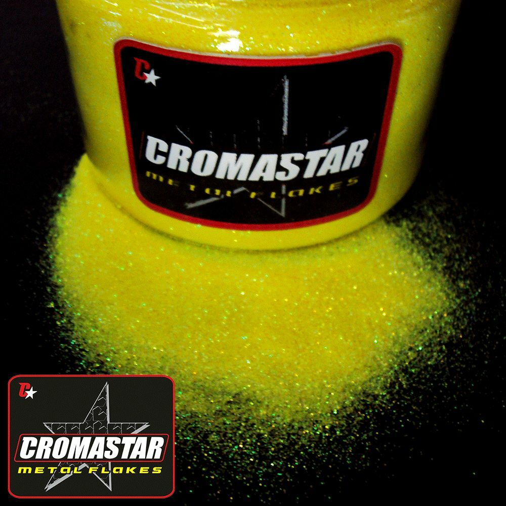 Metal flake yellow automotive paint ebay for Metallic yellow paint