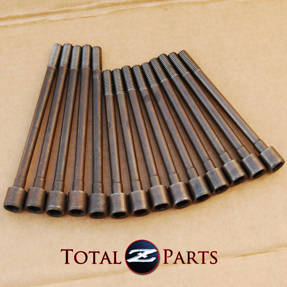 Cylinder Head Bolts Set: Datsun 240z 260z 280z(x) Engine Cylinder Head Bolts Set