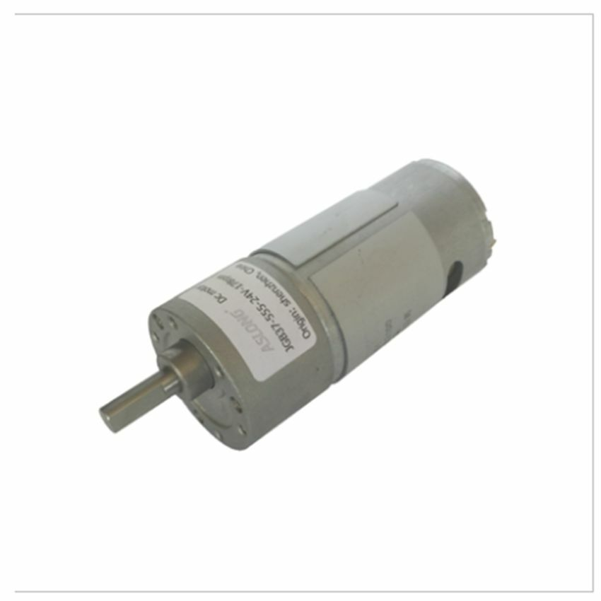 Jgb37 555 deceleration dc geared motor low speed high for High torque high speed dc motor