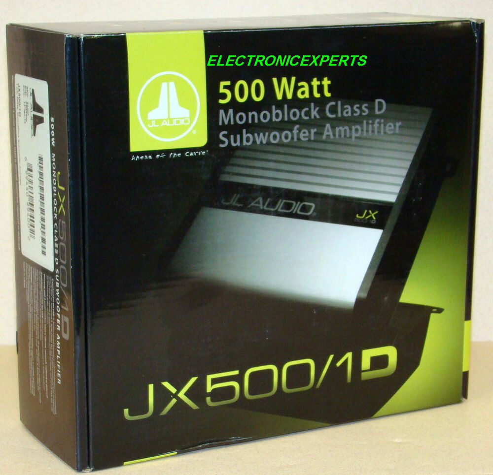 New Jl Audio Jx500  1d 1000 Watt Car Monoblock Amplifier