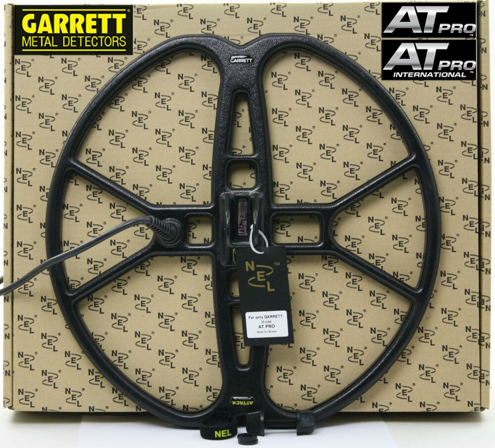 "New nel attack 15""x15"" dd search coil for garrett at pro + c."
