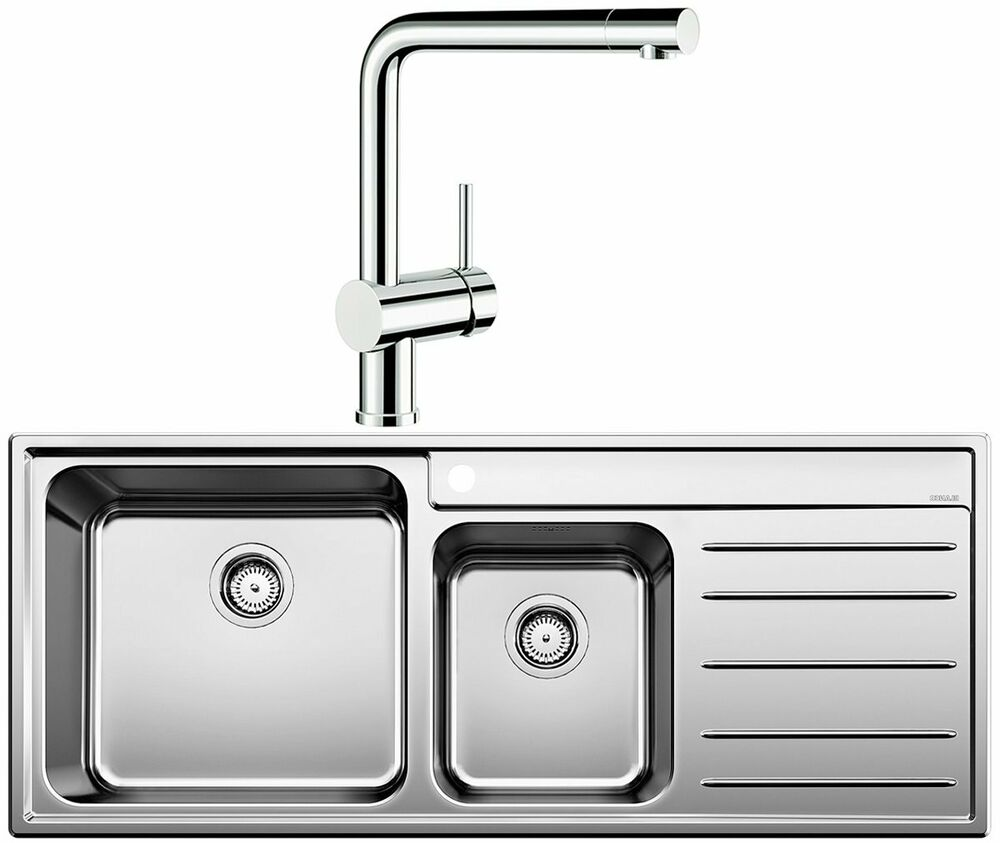 blanco kitchen sinks australia new blanco naya9slp linus bowl right drainer 4782