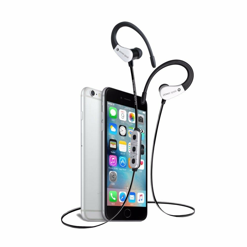 wireless earbuds for iphone wireless bluetooth headset sport stereo headphone earphone 16519